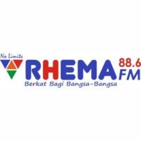 Logo of radio station Rhema FM 88.6