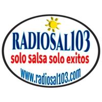 Logo of radio station RADIOSAL103