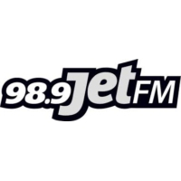 Logo of radio station 98.9 Jet FM