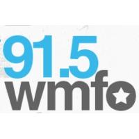 Logo of radio station WMFO 91.5