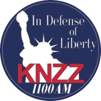 Logo of radio station KNZZ 1100