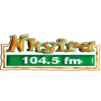 Logo of radio station Nhyira 104.5FM