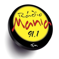 Logo of radio station Rádio Mania