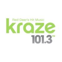 Logo of radio station CKIK-FM Kraze 101.3