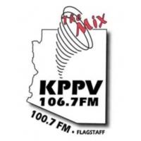 Logo of radio station KPPV 106.7 FM