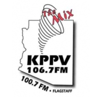 Logo of radio station KPPV 106.7 FM