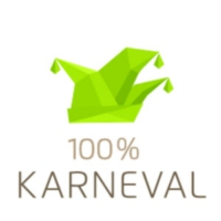 Logo of radio station 100% Karneval von Schlagerplanet Radio