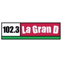 Logo de la radio KDUT La GranD 102.3 FM