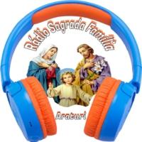 Logo of radio station Rádio Sagrada Família do Araturi