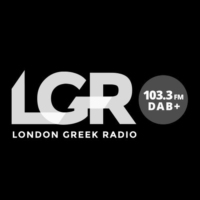 Logo of radio station London Greek Radio