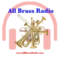 Logo of radio station All Brass Radio