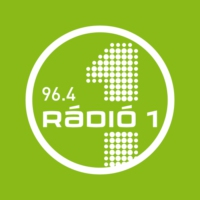 Logo of radio station Rádió 1 - 96.4 - Budapest