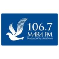 Logo of radio station Radio Mara 106.7 FM Bandung