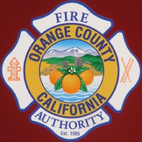 Logo of radio station Orange County Fire