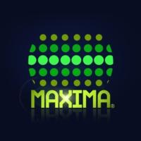 Logo de la radio Maxima 100.5 FM
