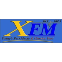 Logo of radio station 98.9 XFM