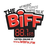 Logo of radio station WBFH The Biff 88.1