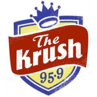 Logo de la radio KRSH The Krush 95.9