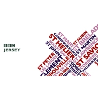 Logo of radio station BBC Radio Jersey