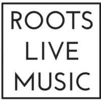 Logo of radio station roots live music radio