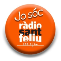 Logo of radio station Ràdio Sant Feliu