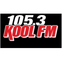 Logo of radio station Kool FM