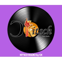 Logo de la radio KITSCH RADIO - Vinyle Web Radio by CK