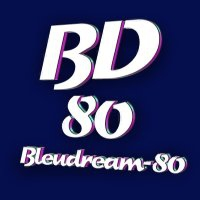 Logo of radio station bleudream-80