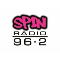 Logo of radio station Rádio SPIN 96.2