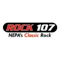 Logo of radio station WEZX Rock 107