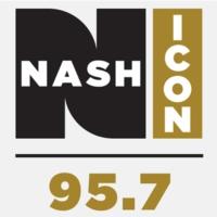 Logo of radio station KARX 95.7 Nash ICON