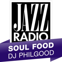 Logo of radio station Jazz Radio Soul Food DJ Phillgood