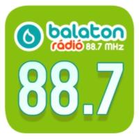 Logo of radio station Balaton Rádió 88.7