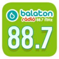 Logo of radio station Balaton Rádió 88.7