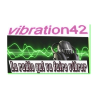 Logo of radio station vibration 42