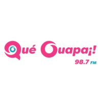 Logo of radio station Qué Guapa 98.7 FM