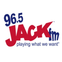 Logo of radio station KJAQ 96.5 Jack FM