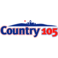 Logo of radio station CKQM Country 105
