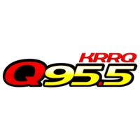 Logo of radio station Q95.5 KRRQ