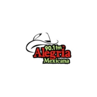 Logo of radio station XHW Alegria Mexicana 90.1 FM