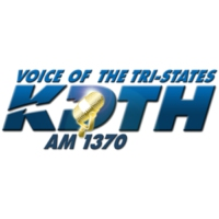 Logo of radio station AM 1370 KDTH