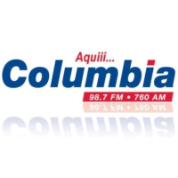 Logo of radio station Columbia 98.7 FM