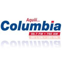 Logo de la radio Columbia 98.7 FM