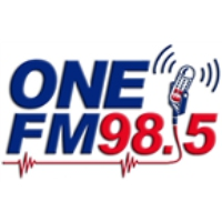 Logo of radio station One FM 98.5