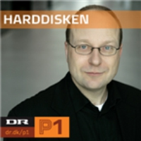 Logo of radio station Harddisken