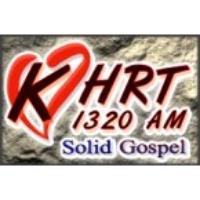 Logo of radio station KHRT 1320