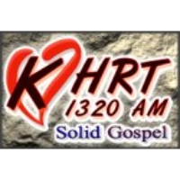 Logo of radio station KHRT 1320