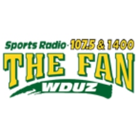 Logo of radio station WDUZ The Fan