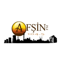 Logo of radio station Afsin FM