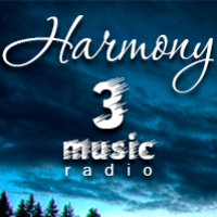 Logo of radio station 3 music Harmony